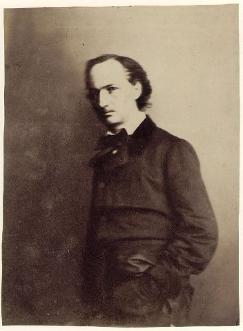 Charles Baudelaire - Poète dans Qui j'Aime ! baudnadar